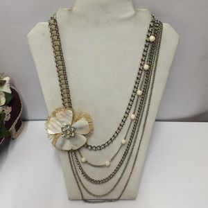 Vintage One of a kind statement necklace